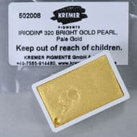 502008 Kremer  Iriodiné 320 Bright Pearl Gold Watercolour Full Pan